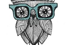 Zentangle, doodling & drawing