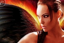 Building a Book--SAVAGE ANGEL / Storyboard for the 2nd PNR novel in the EARTH ANGELS series by Stacy Gail~Release Date: February '13, from Carina Press