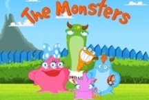 The Monsters Family - August 23rd on an iPad and iPhone near you / The Monsters are a zany and loveable family. Every member of the family has its own unique character and each one has a series of educational and stimulating games that will keep preschoolers busy counting, matching, learning colors, words and using observation skills to play spot the difference and matching shapes.