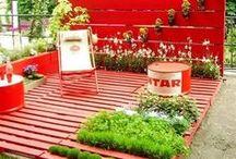 Reuse, Recycle, Repurpose / Repurposing pallets and more!