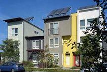 multi-family, co-housing + urban living