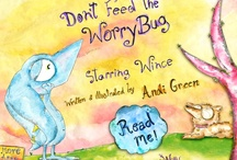 Wince_Don't Feed_The_WorryBug / Have you ever had a worry? If so, this beautiful interactive storybook is for you. Based on the award-winning book, Don't Feed The WorryBug, by author/illustrator Andi Green, this interactive app tells the story of an adorable little monster named Wince. Wince worries so much The WorryBug appears! And we all know the more you worry, the bigger The WorryBug can become! Join Wince on his inspiration