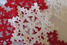 Granny Squares, Doilies, & Crochet Thread things / Crochet. Granny Squares and Doilies (thread!)