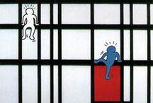 Impressie van een kunstwerk / Maak een kunstwerk van een bekende kunstenaar in een andere dimensie / by Bouwens Kunst A