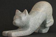 Van brok tot beeld / Maken dier van speksteen / by Bouwens Kunst A