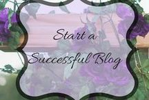 Start a Successful Blog / Blog posts, pins, branding for startasuccessfulblog.com by Renee Rose!