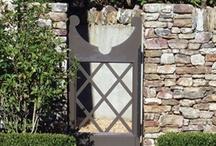 doors + gates / by erika m. powell
