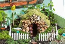 fairy gardens and houses