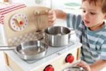 Let's play Food, Kitchen & Shop! / Sustainable, safe non toxic toys - Playfood, kitchens and shops!
