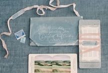 Invitation Inspiration, Etiquette & Advice / Come here for Invitation Inspiration, etiquette and advice on wording for wedding invites, save the dates and assorted paper goods