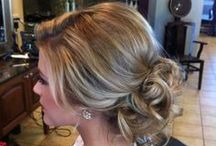 Wedding Hair / Bridal Hairstyles: Updos, Half Up Half Down, and Down Styles with soft curls