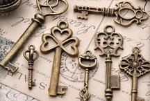 Keys / Keys open more than just doors............ / by Tammy Ellis