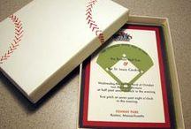 WEDDINGS: Baseball Inspiration & Ideas / Boston Wedding Planner Donna Kim of The Perfect Details Pinterest Board of baseball Inspiration for your wedding!