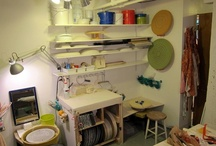 Pottery Studio set-up and inspirations