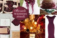 WEDDINGS: Color Palettes / Boston Wedding Planner Donna Kim of The Perfect Details Pinterest Board of Christmas and Winter Inspiration for your wedding!