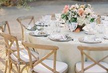 Table Setting | Classics / beautiful wedding table setting ideas sure to please every couple!