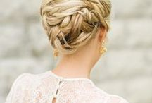 Wedding Hair | Classics / Gorgeous wedding hairstyles for the bride, from long lovely locks to stylish updos and everything in between you are sure to find the perfect bridal hairstyle here! #weddinghair