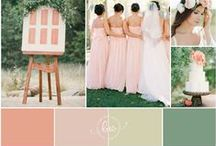 Color Theme / Often, in planning a wedding, one of the first things a bride does is pick a color theme to help guide her vision for her big day~check out these great color theme options sure to inspire you!