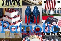 ENERTAINING: Fourth of July/Patriots' Day Inspiration / Boston Wedding Planner Donna Kim of The Perfect Details Pinterest Board of 4th of July/ Patriots' Day Inspiration for your wedding!