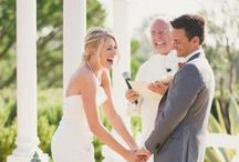 """Wedding Ceremony / The ceremony is what it's all about, where the bride & groom say their """"I do's"""" and become Mr & Mrs! Here are some fabulous ceremony classics to enjoy!"""