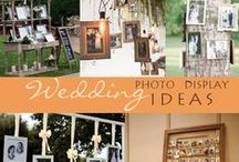 WEDDINGS: Photos - Ideas & Inspiration / Using photographs at a wedding makes it personal and lets your guests know more about you! We love creative uses for photos at weddings!