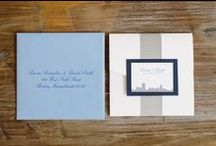 Envelopments Wedding Invites & Paper Goods / Custom Wedding Invitations and Paper Goods created and printed by Donna Kim of The Perfect Details Custom Design - Events & invites.
