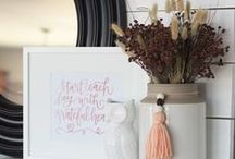 Holidays - Fall / Halloween / Thanksgiving / Fall decor and decorating ideas. Halloween decor and decorating ideas. Fall and Halloween Printables.