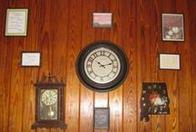 Time Moves Along- Are You Ready? / in 2015, I had an idea to display all our clocks in the living room (some do not work, but all of them have special meaning to us), along with framed quotes about time. Here are some pictures of the finished display (so far) as well as images of the quotes we used. / by Beth Rogers
