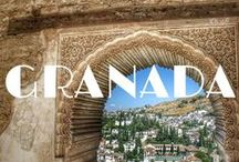 Granada Travel & Food / The best things to do, see and eat in Granada, Spain. A Granada travel guide via Pinterest!