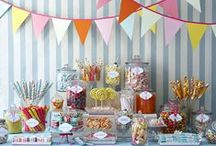Everyone loves candy | Classics / June is National Candy Month! Do you love candy? We sure do! Candy Buffets are all the rage at events and we just love this sweet trend! #sweetTreat