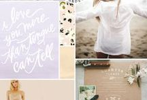Design - Moodboards / Lovely examples from around the web of moodboards used in graphic + web design.