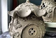 clay fairy house inspiration