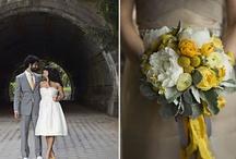 Wedding Ideas - Grey/Yellow