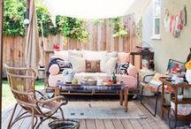 Pretty Porches / Porch and Sunroom Decor