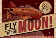 Vintage Sci Fi Art and Illustration / Vintage Sci Fi Art and Illustration