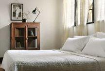 bedrooms / by Hollin Brodeur-Whedbee