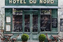 Nice coffee places, restaurants and hotels