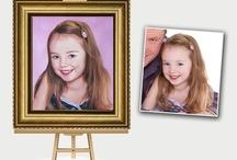 Oil paintings from photographs / Love Custom Art creates hand painted Oil paintings from photographs