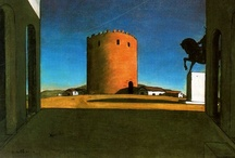 De Chirico & Hopper / + style influence thereof  / by Gray Matter/Red Meat