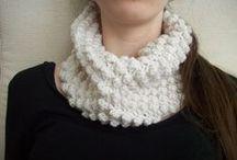Crochet- hats & scarves / by Lynne Scott