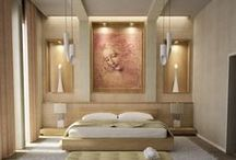 Home Design: Bedrooms / Unique design ideas for your bedroom space. / by Kenda Smith