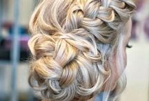 HAIR / #hairstyles, #braids, #up-dos, beautiful colors and other #inspiration / by REMAKING JUNE