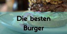 Die besten Burger / Burger und Rezepte der ganzen Welt.   Hol dir hier Inspirationen für den maximalen Burgergenuss.