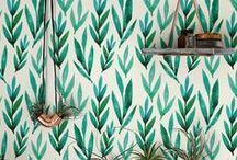 ❤️ /// Grün - Green / Grün wie der Dschungel - Einrichten mit Grüntönen - Möbel Dekoration, Textilien, Geschirr, Teppiche, Bettwäsche, Lampen, Einrichtungsideen in Grün