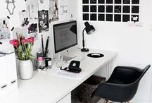 Home | Workspace / Ideas for making the desk and workspace functional yet pretty.