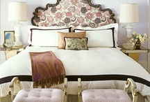 Bedroom Inspiration / Some inspiration for the bedroom the most relaxing, intimate space in my home. Happy Pinning!