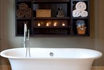 Bathroom Inspiration / Pretty inspiration for the bathroom! Happy Pinning!