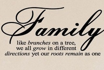 Family / Other things may change us but we start and end with family! ~Anthony Brandt. Quotes about those nutty people we call family. Happy Pinning!