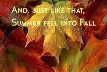 Fall....into me / by Candice Johnson
