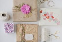 Creative | Packaging & Wrapping / Ideas and inspiration for packaging and stylish wrapping.